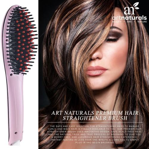 Art Naturals Hair Straightening Brush