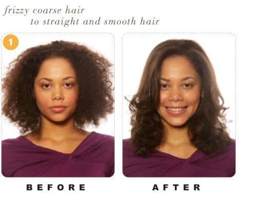 Calista Tools Hair Straightening Brush as seen on TV