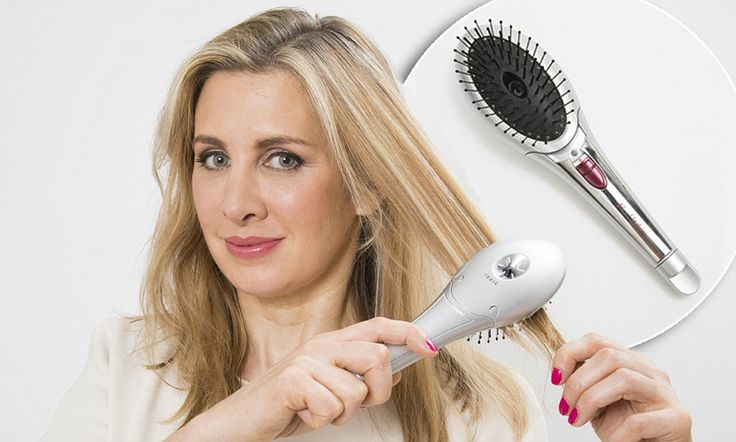 Styling with Ionic hair brushes