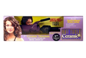 Hot tools titanium curling iron