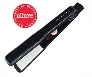 T3 Bespoke Medium Duality Single Pass Tourmaline Ceramic Dual Voltage Flat Iron