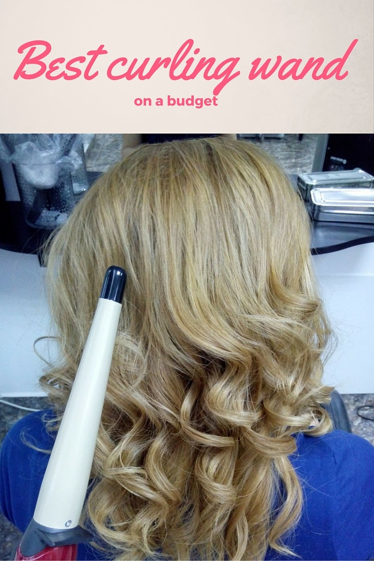 Best curling wand on a budget