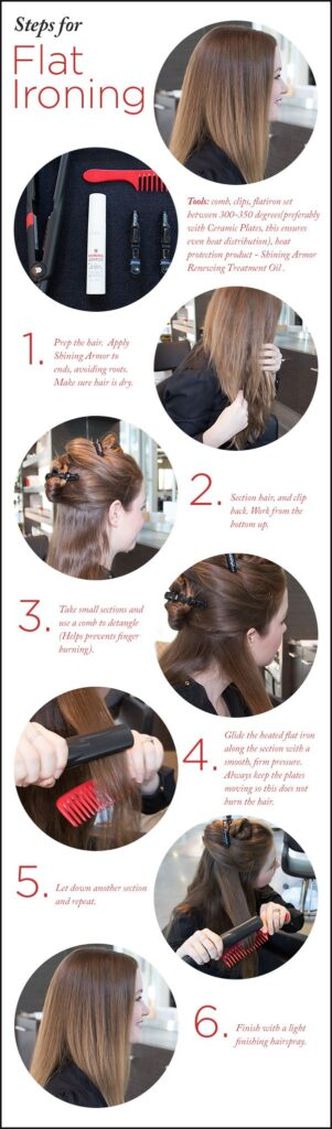 How to get your hair straight in under 10 min