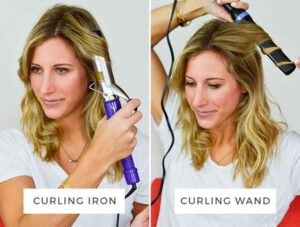 Curling Irons vs Curling Wands