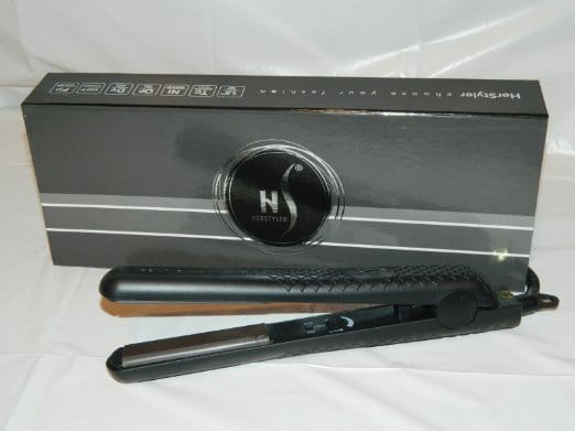 Herstyler Black Ceramic Superstyler Flat Iron Review