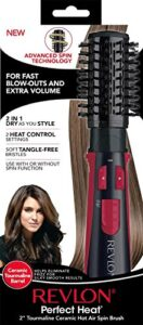 Revlon Perfect Heat Tourmaline Ceramic Hot Air Spin Brush 1