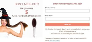 Giveaway Great Hair Brush Straighteners