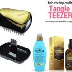 Tangle Teezer Brush Review - Gold Rush