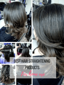 Which Are The Best Hair Straightening Products For Home Use?