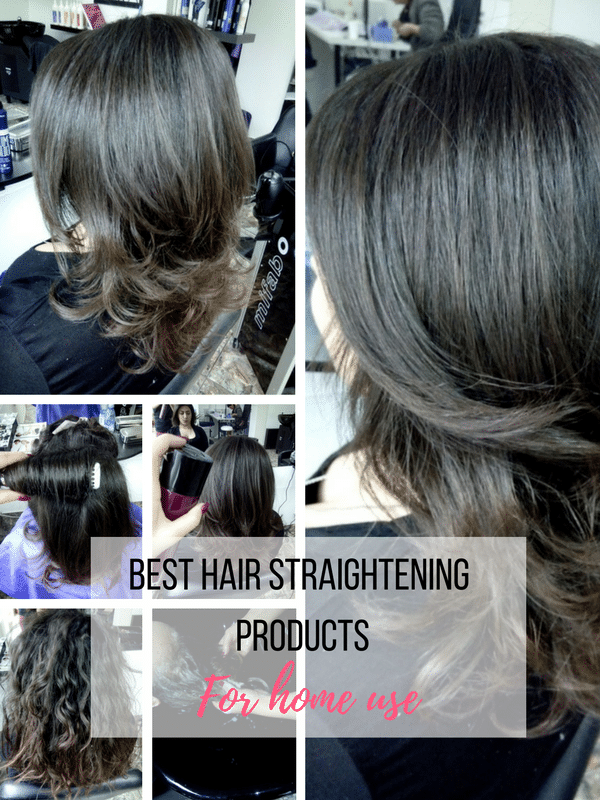 best hair straightening products for home use