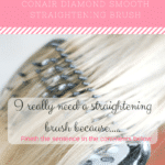 Hooray! Time for #giveaway WIN THE NEW CONAIR DIAMOND STRAIGHTENING BRUSH