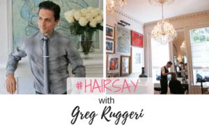Greg Ruggeri of Salon Ruggeri NYC