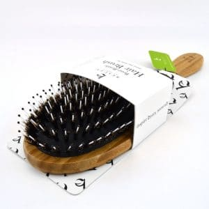 Boar Bristle Bamboo Brush