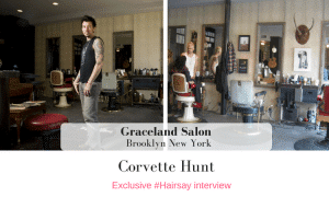 Exclusive #Hairsay Interview Corvette Hunt of Graceland New York