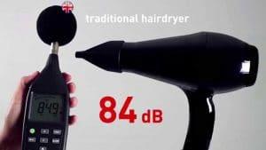 hair dryer noise