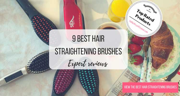 hair straightening brush options