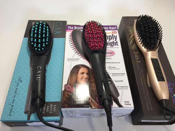 Simply Straight Brush compared to other straightening brushes