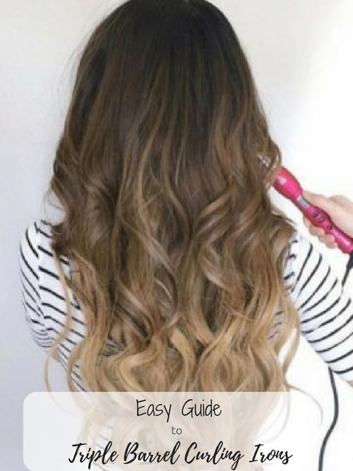 Triple Barrel Curling Iron Guide