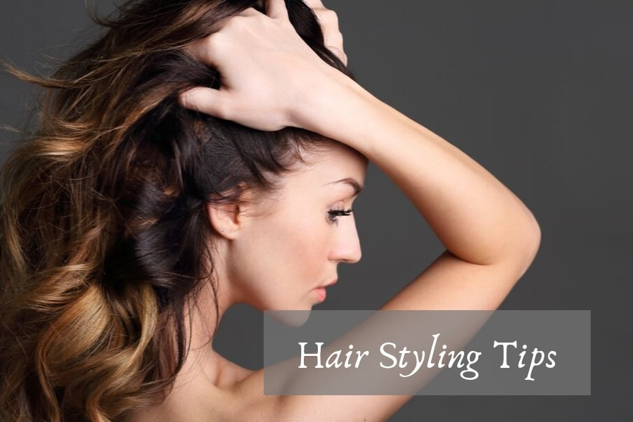 styling tips with hot rollers