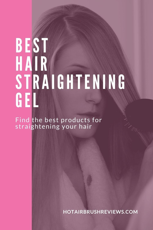 best hair straightening gel
